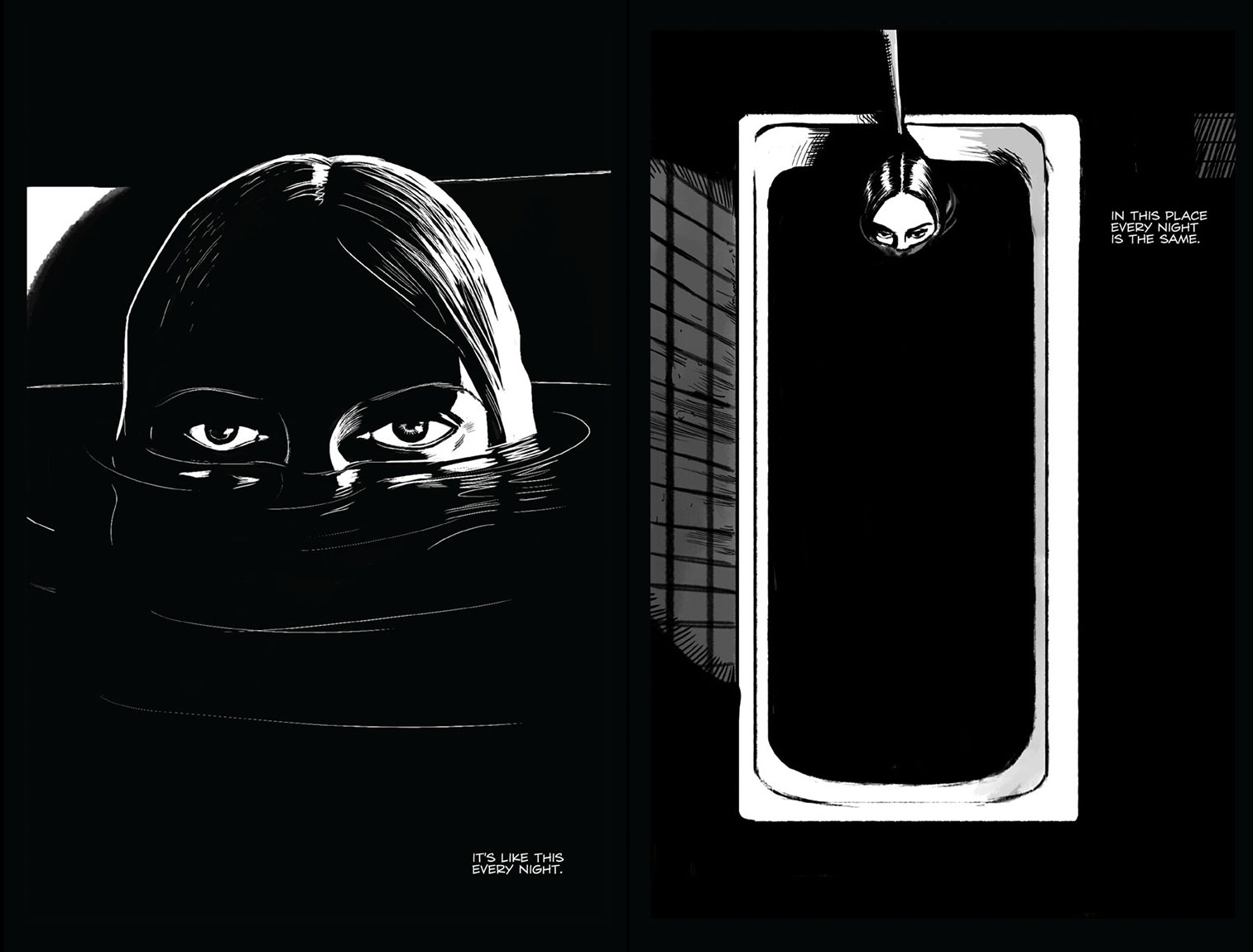 a Girl Walks Home Alone at Night Comic a Girl Walks Home Alone at